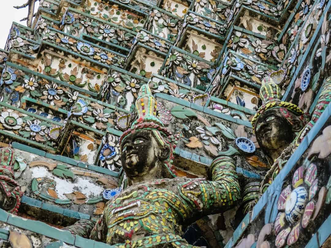 amazing architecture Wat Arun