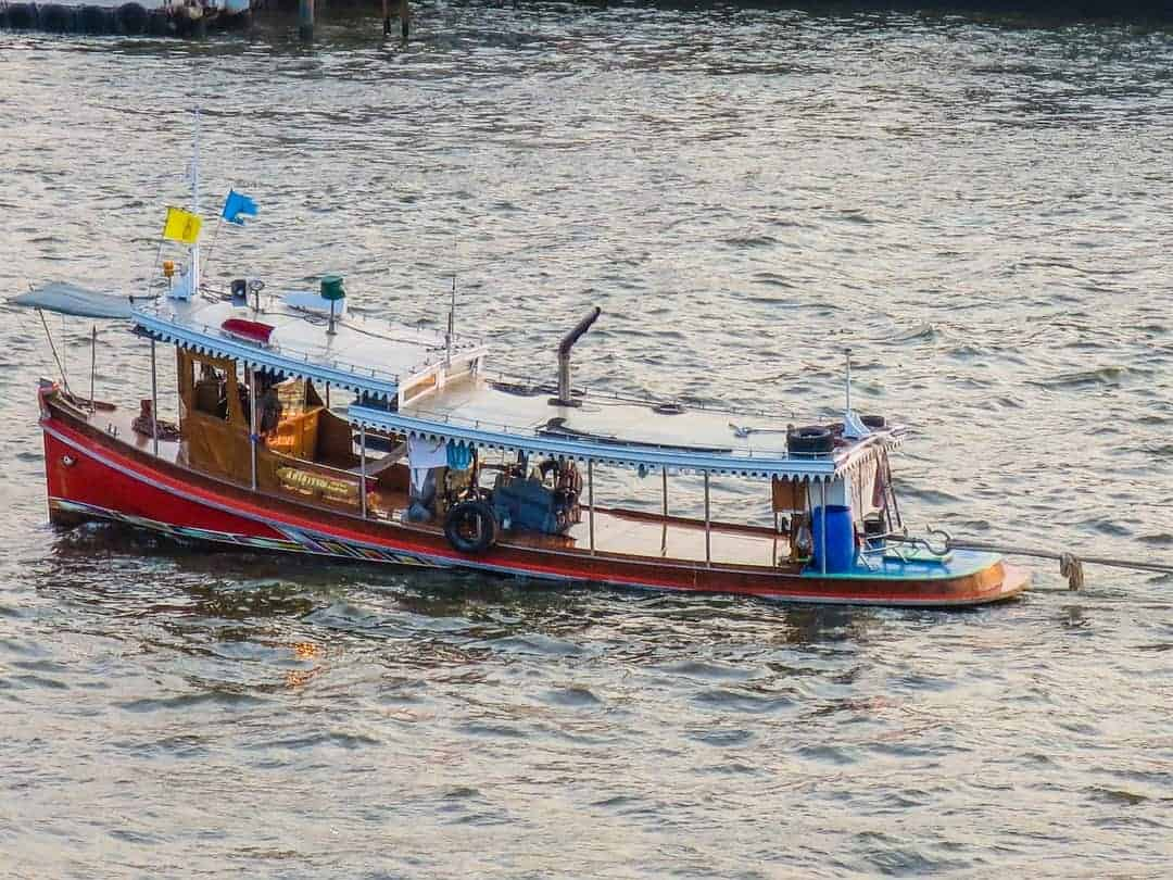 river life - best place to watch sunset in Bangkok