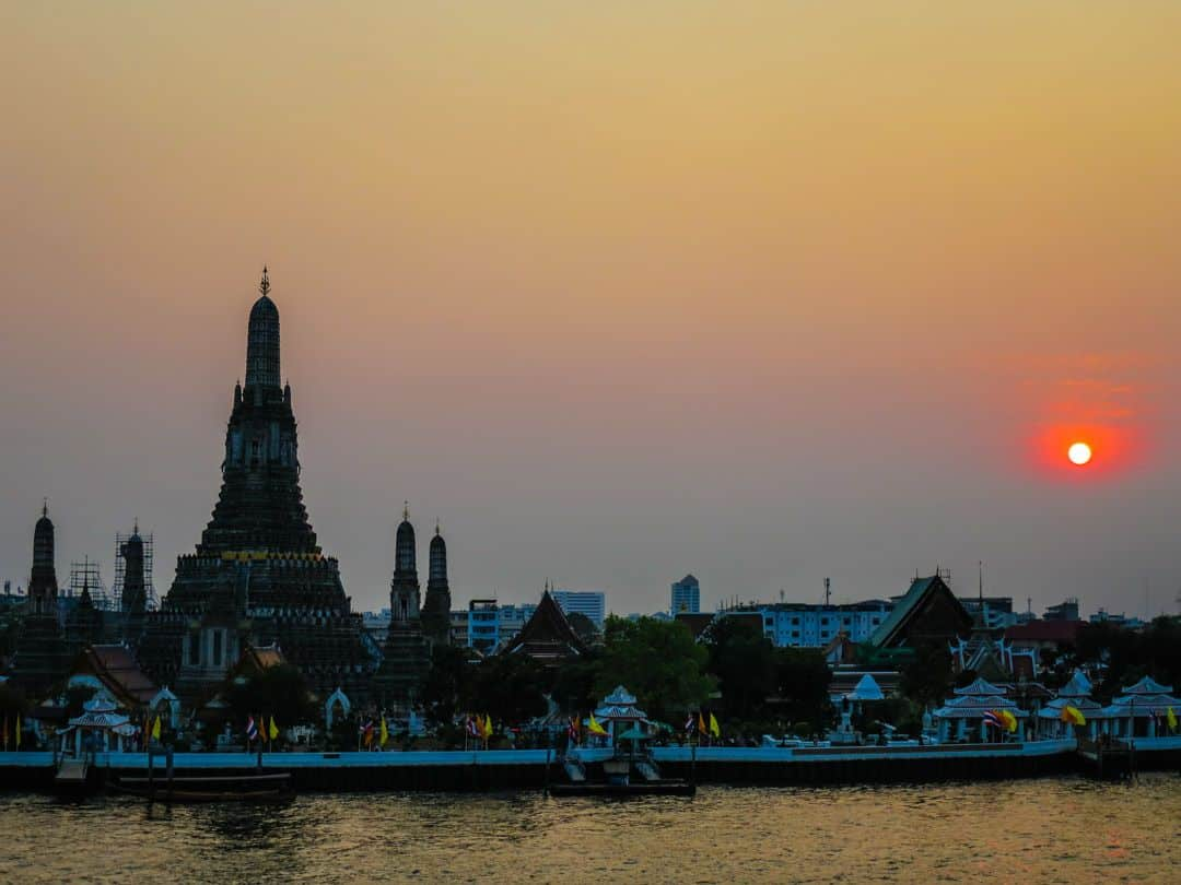 best place to watch sunset in Bangkok