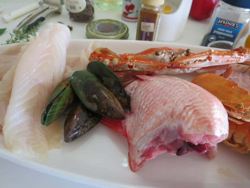 Making bouillabaisse from scratch