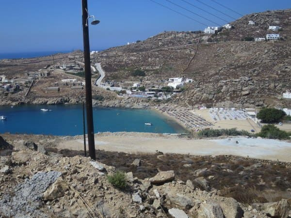 Hitting the beach on Mykonos
