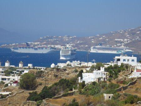 Dreaming of Greek Islands:Mykonos