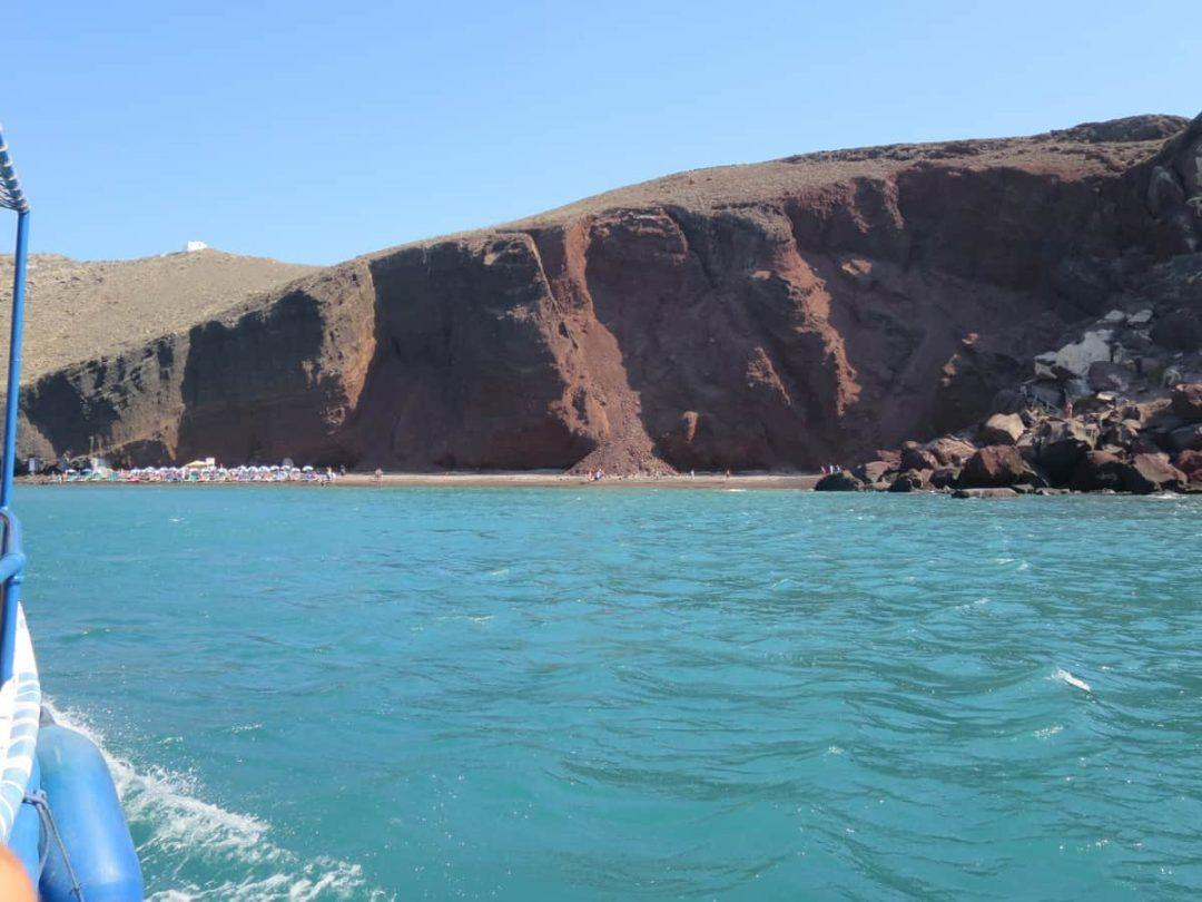 Red Beach one of the best beaches on Santorini