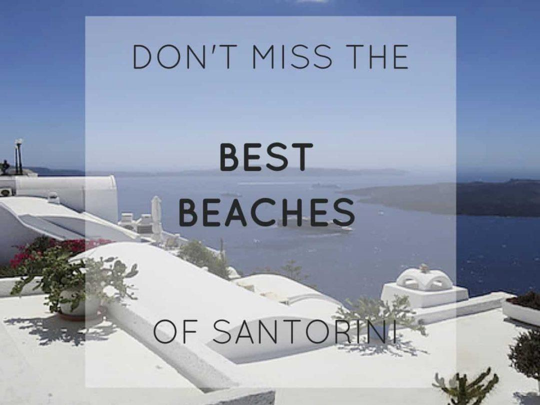 best beaches of santorini