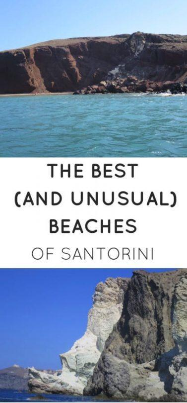 best beaches on santorini