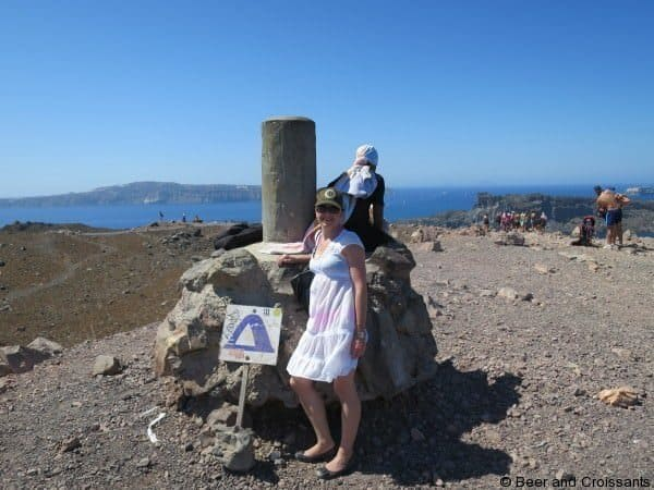 Volcanoes and Thermal Springs of Santorini