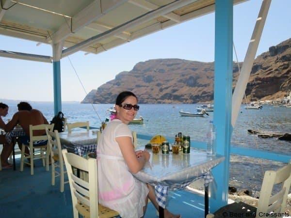 Volcanoes and Thermal Springs on Santorini