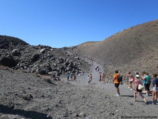 Volcanoes and Thermal Springs of Santorini