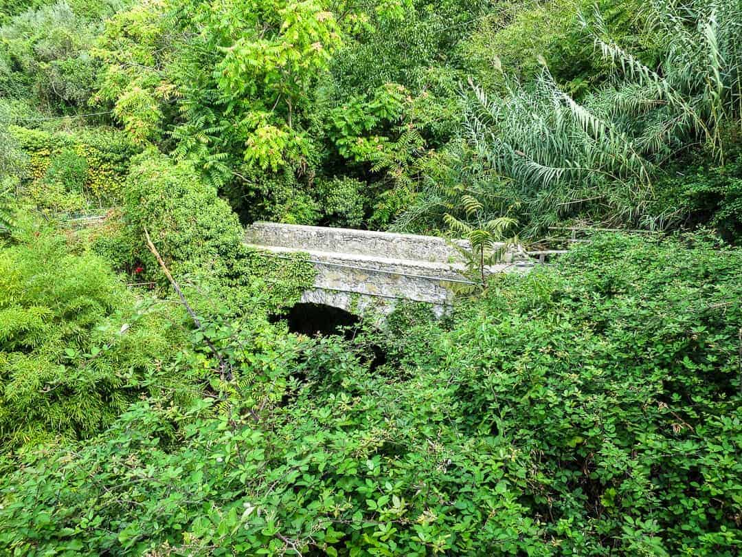 Bridge on the Cinque Terre Trail