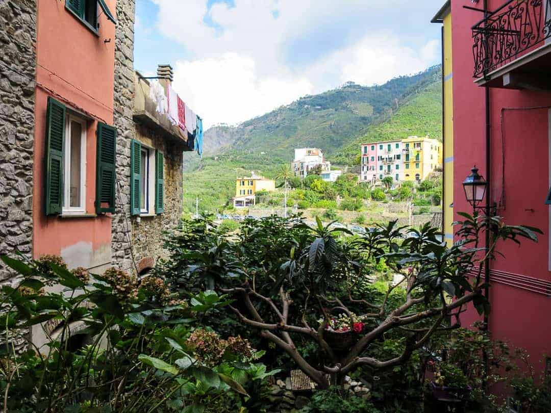 Views are everywhere in Corniglia