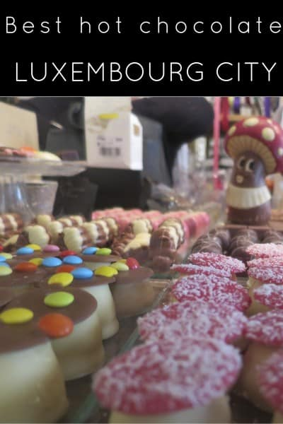 best hot chocolate experience in Luxembourg City