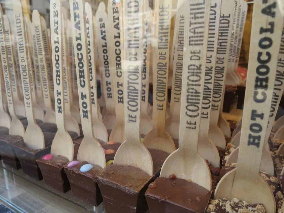 24 hours in brussels - chocolate sticks
