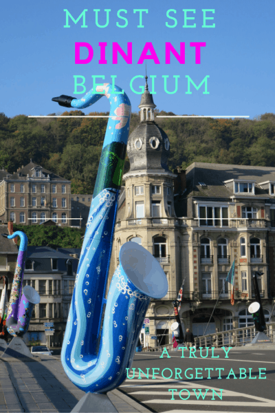 One of the most beautiful towns in #Belgium.  Brimming with history, beauty and plenty to do, put it on your list. Read our tips. #belgiumtravel #travelbelgium #dinant #beautifulcitiesinbelgium #whattodoinbelgium