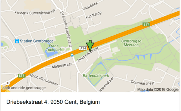 Ghent location of motorhome campground