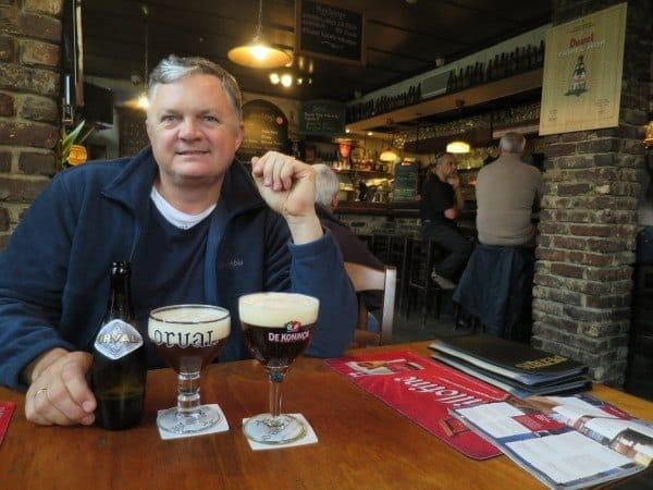 De Koninck and Duval - a couple of tasty drops in Ghent