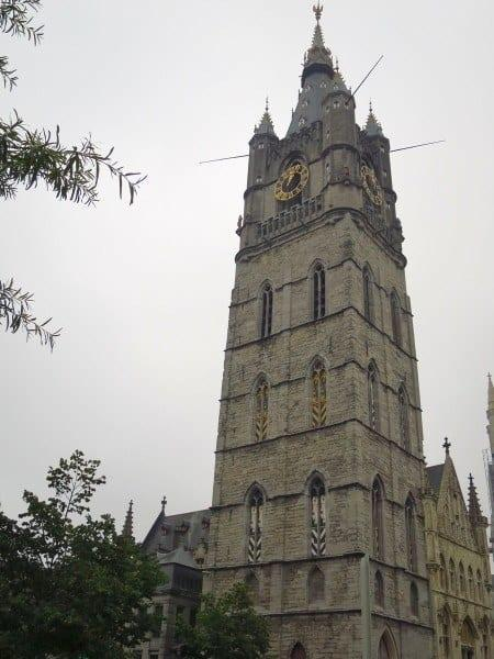 The Belfry - second highest tower in Ghent