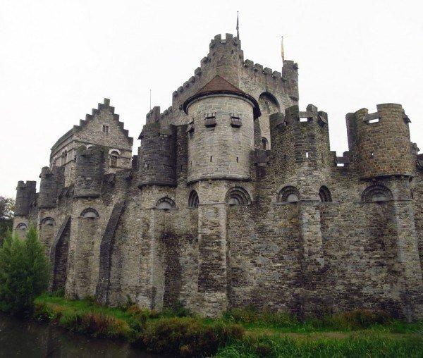Ghent Gravenstten Castle