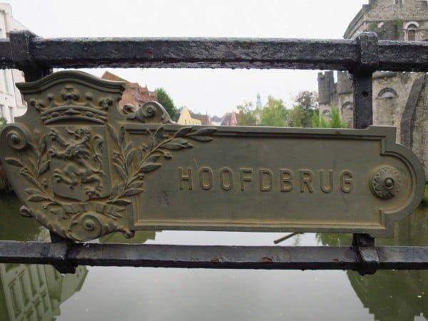 The Hoofdbrug Bridge Ghent
