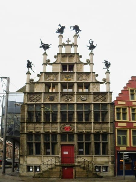 Masons' Guild Hall in Ghent