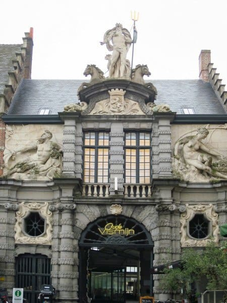 Neptune at Old Fish Market Ghent