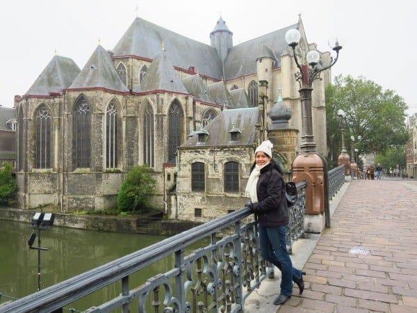 St Michael's Church in Ghent