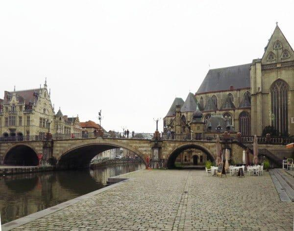 St Michael's Bridge Ghent