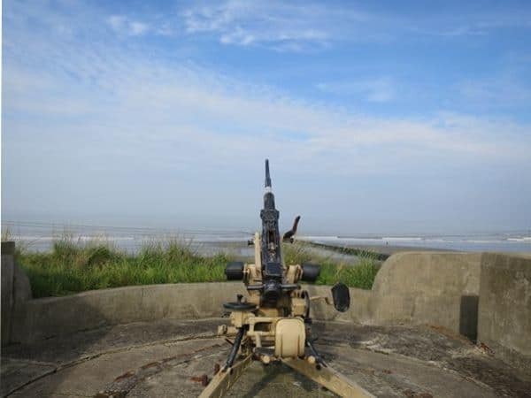Anti aircraft gun Atlantic Wall