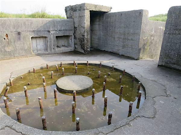 Artillery platform Atlantic Wall Ostende