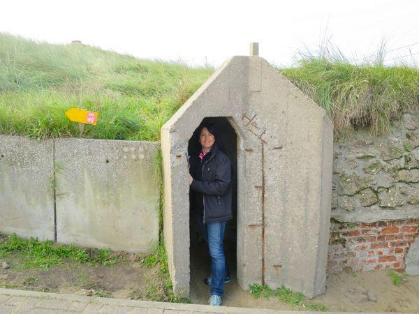 Sentry box Atlantic Wall