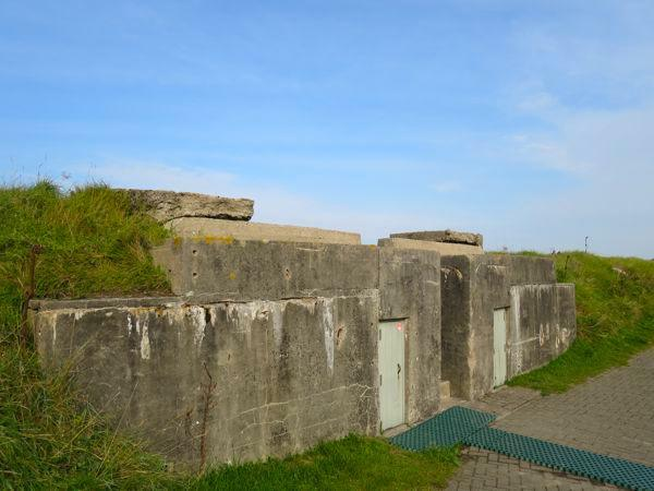 Atlantic Wall Ashell proof reinforced concrete shelter