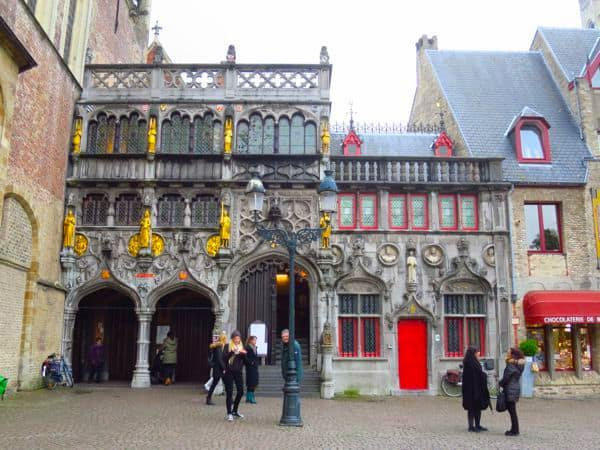 Basilica of the Holy Blood Bruges bruges in 24 hours
