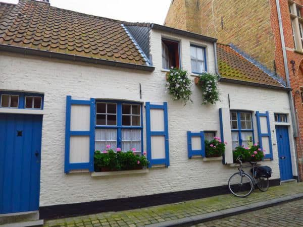 Houses of the Bruge Beguinage bruges in 24 hours