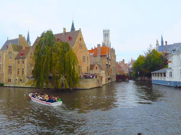 Rozenhoedkaai the most photographed spot in Bruges
