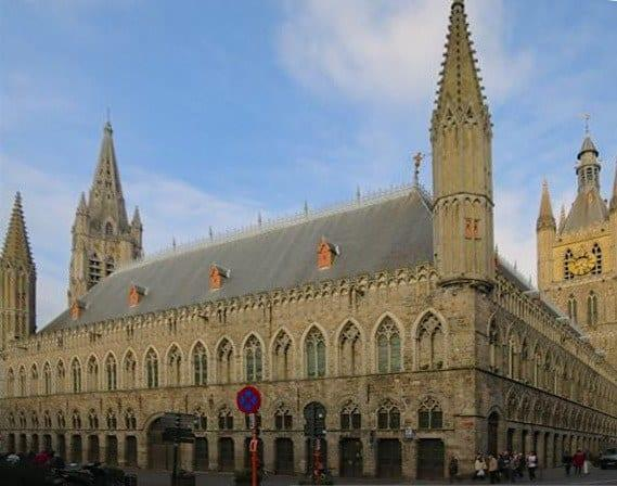 Cloth Hall Ieper Belgium