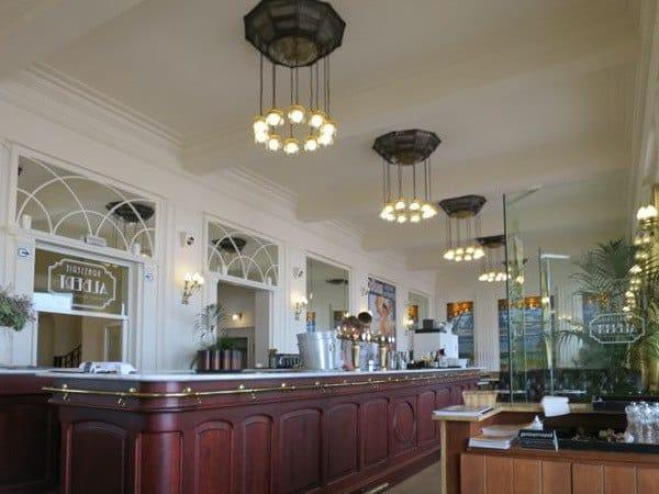 Inside the Albert Brasserie Ostende Belgium
