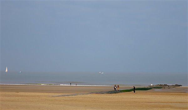 Ostende seaside