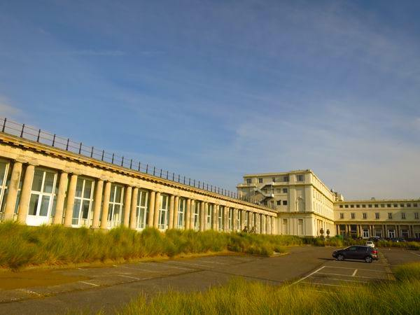 Royal Galleries and Hotel Thermae in Ostende