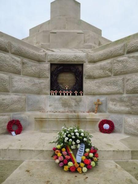 Cross of Sacrifice Tyne Cot