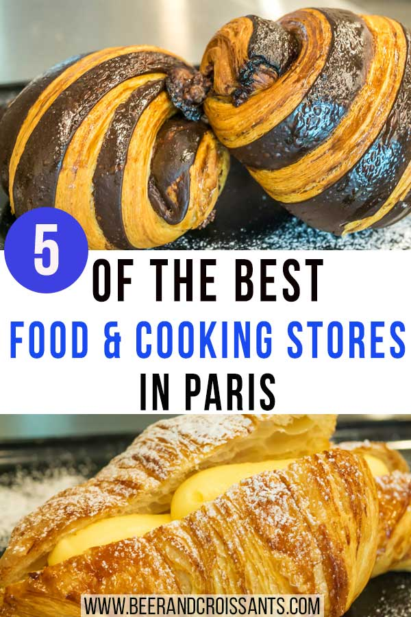 five of the best food and cookware stores in paris