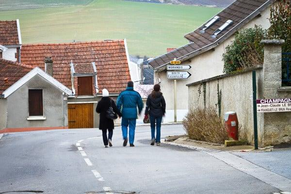 Walking through the town - not a person in sight. Monthelon France