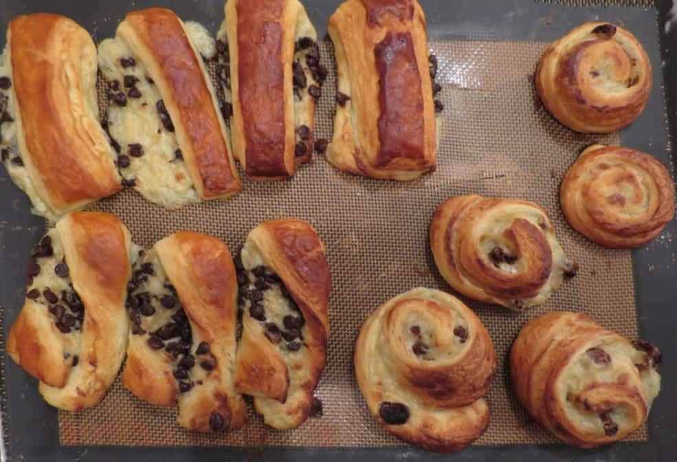 Pastries made at La Cuisine Paris cooking class