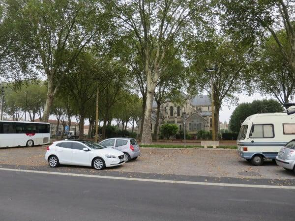 Aire Municipale Overnight parking Epernay