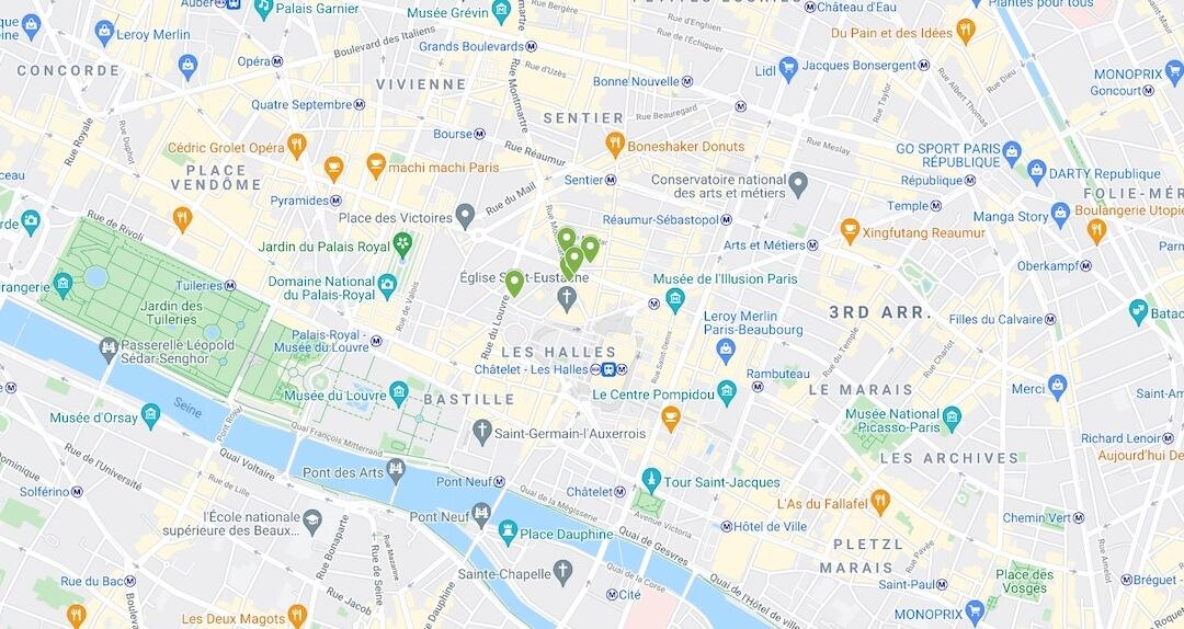 food and cookware stores in paris france