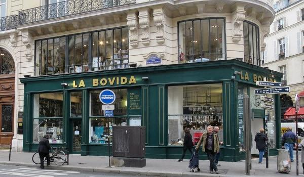 La Bovida food store Paris
