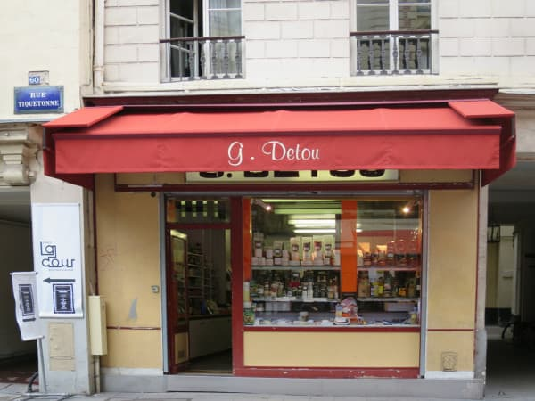 G Detou food store in Paris