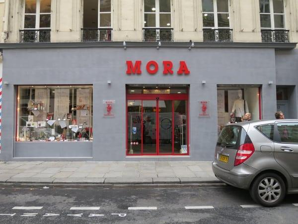 Mora cookware store in Paris