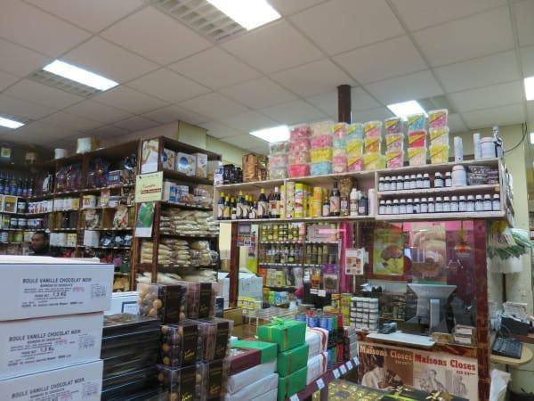 Inside G Detou Food stores in Paris