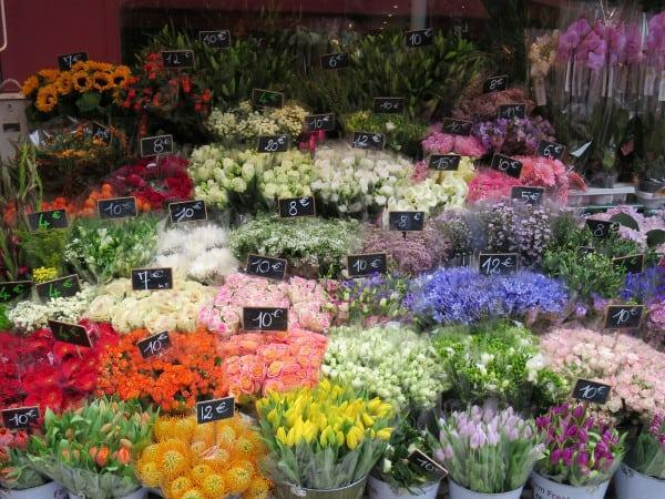 The flowers in Europe are always so vibrant ) and inexpensive!)