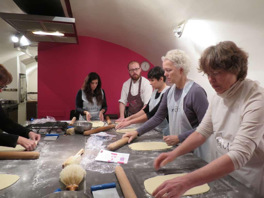 Cooking class in Paris participants
