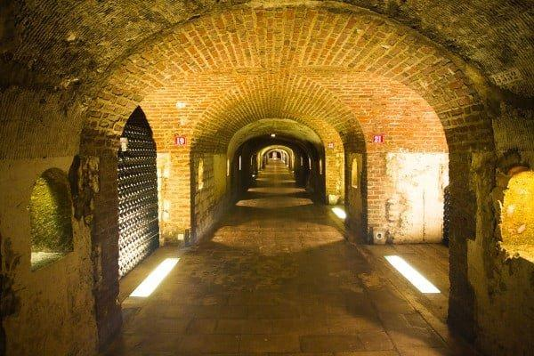 Moet and Chandon Epernay cave tour